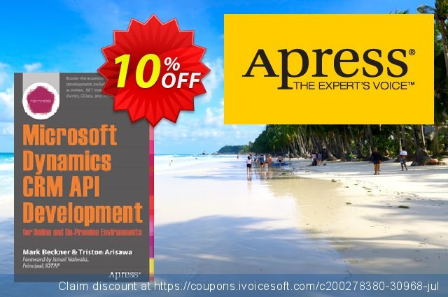 Microsoft Dynamics CRM API Development for Online and On-Premise Environments (Beckner) discount 10% OFF, 2021 Happy New Year promotions