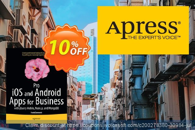 Pro iOS and Android Apps for Business (Zammetti) discount 10% OFF, 2020 Halloween offering sales