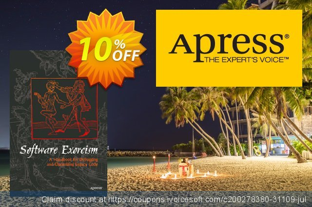 Software Exorcism (Blunden) discount 10% OFF, 2020 Thanksgiving discounts