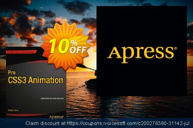 Pro CSS3 Animation (Storey) discount 10% OFF, 2020 Thanksgiving offering sales