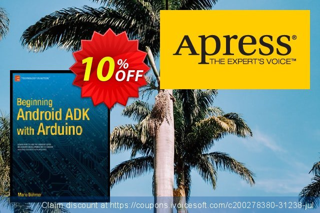 Beginning Android ADK with Arduino (Bhmer) discount 10% OFF, 2020 Halloween offering sales