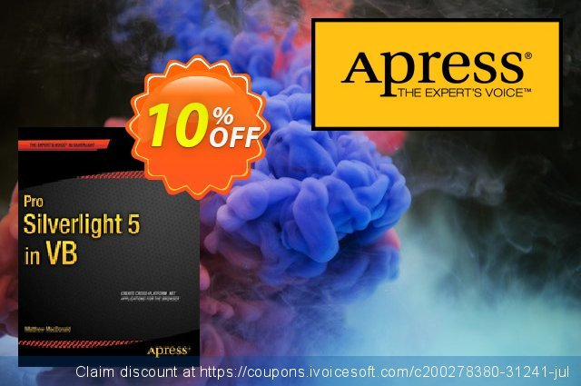 Pro Silverlight 5 in VB (MacDonald) discount 10% OFF, 2021 Happy New Year offering deals