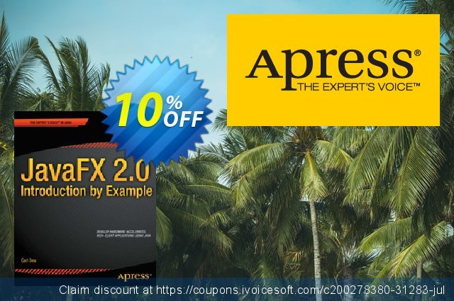 JavaFX 2.0: Introduction by Example (Dea) discount 10% OFF, 2021 Happy New Year offering sales