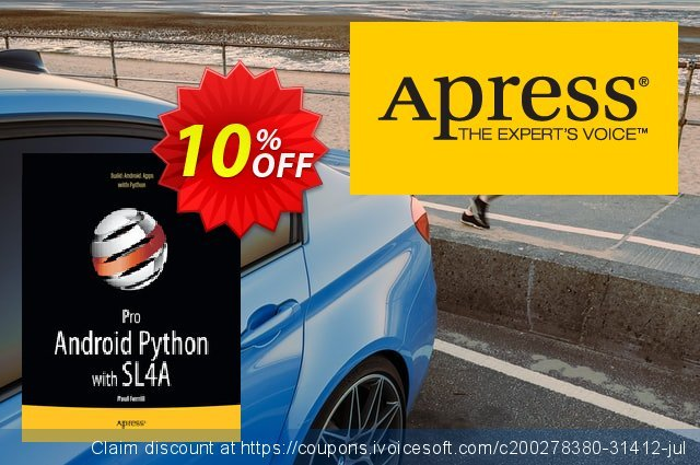 Pro Android Python with SL4A (Ferrill) discount 10% OFF, 2020 Thanksgiving offering sales