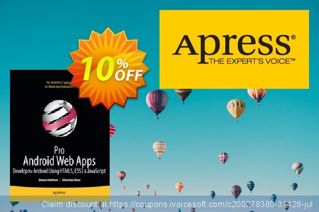 Pro Android Web Apps (Oehlman) discount 10% OFF, 2020 Halloween offering sales