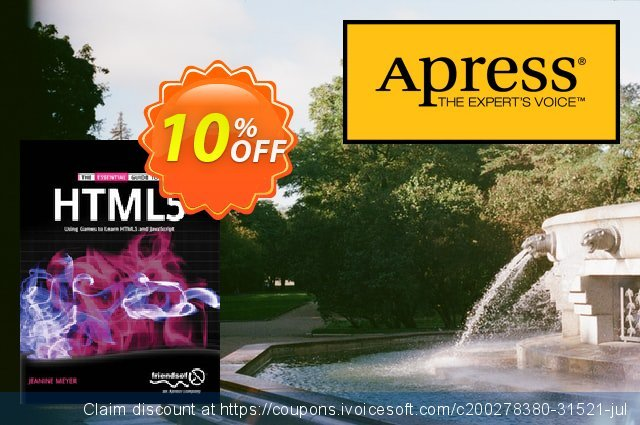 The Essential Guide to HTML5 (Meyer) discount 10% OFF, 2020 Christmas offering sales