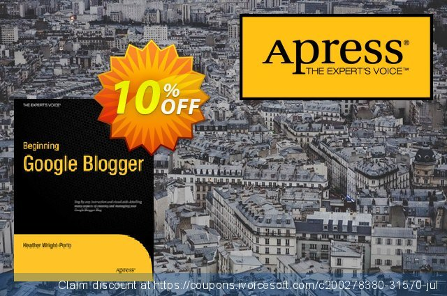 Beginning Google Blogger (Wright-Porto) discount 10% OFF, 2020 Black Friday discount