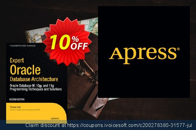 Expert Oracle Database Architecture (Kyte) discount 10% OFF, 2020 Thanksgiving offering sales