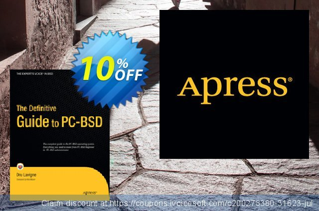 The Definitive Guide to PC-BSD (Lavigne) discount 10% OFF, 2021 New Year's Day promo