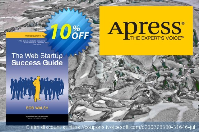 The Web Startup Success Guide (Walsh) discount 10% OFF, 2021 Mother Day offering sales. The Web Startup Success Guide (Walsh) Deal