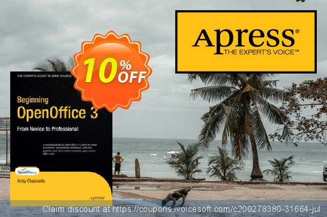 Beginning OpenOffice 3 (Channelle) discount 10% OFF, 2021 New Year offering sales