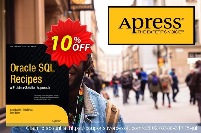 Oracle SQL Recipes (Allen) discount 10% OFF, 2021 Happy New Year offering sales