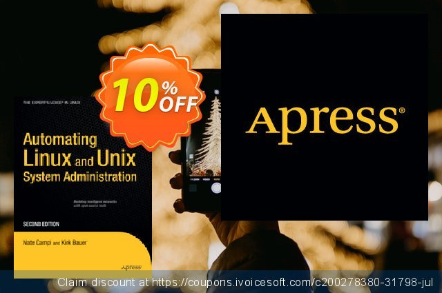 Automating Linux and Unix System Administration (Campi) 惊人 折扣码 软件截图