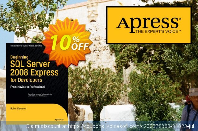 Beginning SQL Server 2008 Express for Developers (Dewson)  대단하   프로모션  스크린 샷
