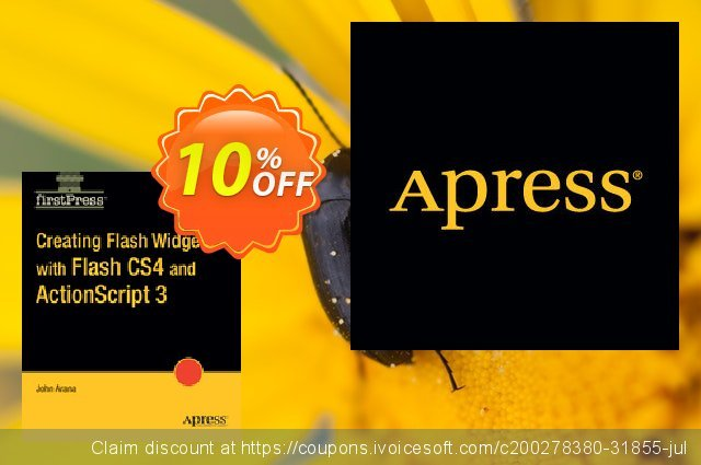 Creating Flash Widgets with Flash CS4 and ActionScript 3.0 (Arana) discount 10% OFF, 2021 Happy New Year offering sales