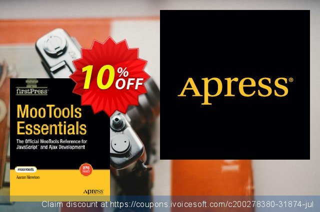 MooTools Essentials (Newton) discount 10% OFF, 2020 Thanksgiving discount