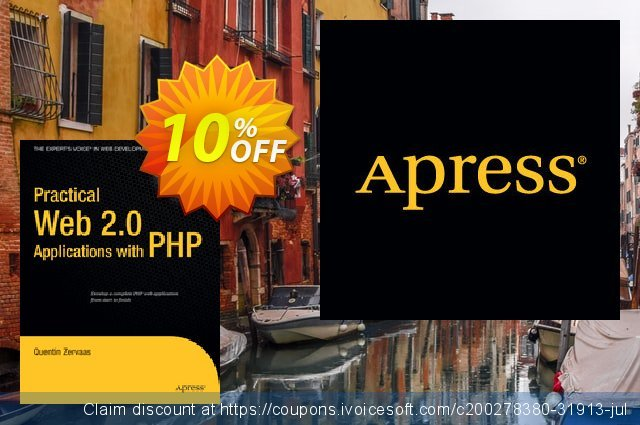 Practical Web 2.0 Applications with PHP (Zervaas) discount 10% OFF, 2021 Happy New Year offering sales