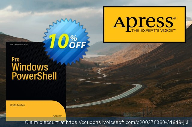 Pro Windows PowerShell (Deshev) discount 10% OFF, 2020 Thanksgiving offering sales