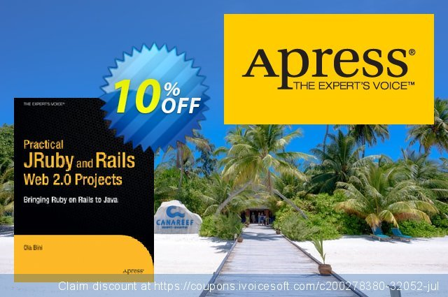 Practical JRuby on Rails Web 2.0 Projects (Bini) discount 10% OFF, 2021 January sales