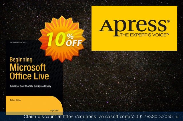 Beginning Microsoft Office Live (Pitre) discount 10% OFF, 2021 Spring discount
