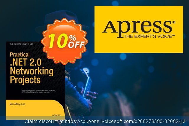 Practical .NET 2.0 Networking Projects (Lee) discount 10% OFF, 2020 Thanksgiving Day offer