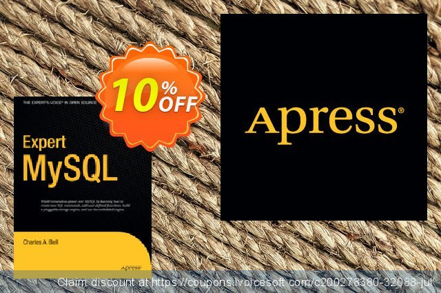 Expert MySQL (Bell) discount 10% OFF, 2021 Happy New Year discounts