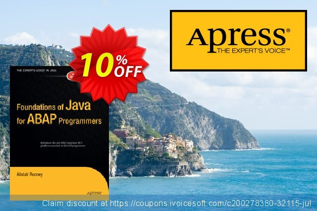 Foundations of Java for ABAP Programmers (Rooney) 优秀的 产品销售 软件截图