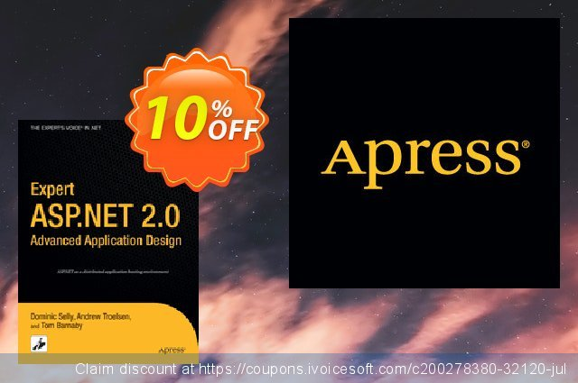 Expert ASP.NET 2.0 Advanced Application Design (Barnaby) discount 10% OFF, 2021 New Year's Day offering sales