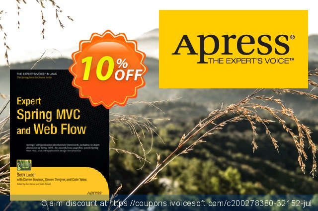 Expert Spring MVC and Web Flow (Yates)  신기한   프로모션  스크린 샷