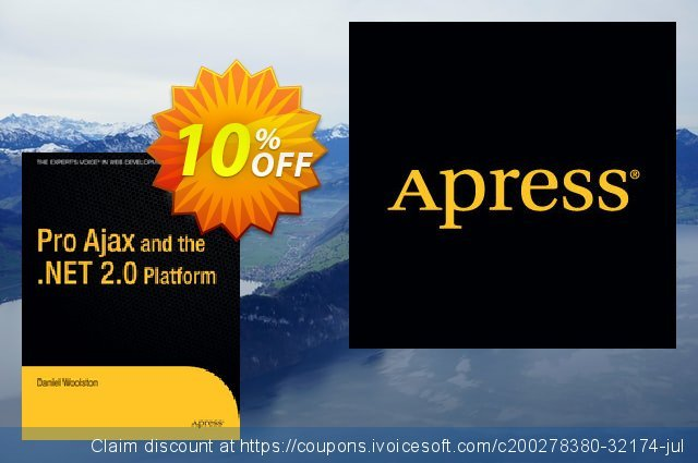 Pro Ajax and the .NET 2.0 Platform (Woolston) discount 10% OFF, 2020 Thanksgiving promotions