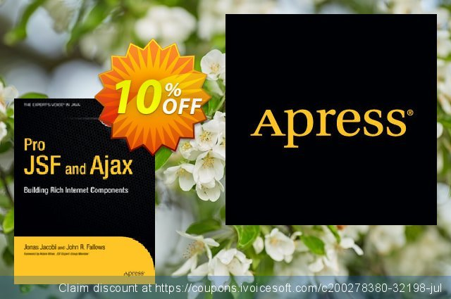 Pro JSF and Ajax (Jacobi) discount 10% OFF, 2021 Happy New Year offering sales