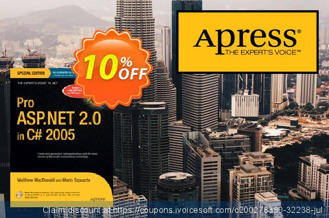 Pro ASP.NET 2.0 in C# 2005, Special Edition (Szpuszta) discount 10% OFF, 2021 New Year offering sales
