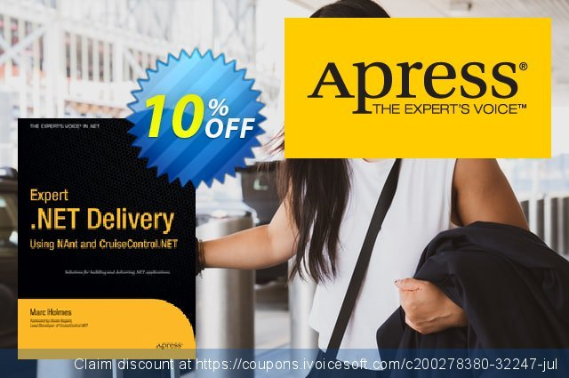 Expert .NET Delivery Using NAnt and CruiseControl.NET (Holmes) discount 10% OFF, 2020 Halloween offering sales