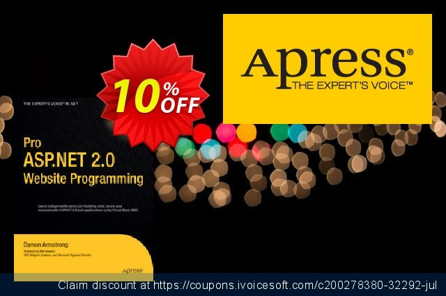 Pro ASP.NET 2.0 Website Programming (Armstrong) discount 10% OFF, 2021 New Year's Weekend offering sales