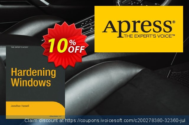 Hardening Windows (Hassell) discount 10% OFF, 2021 January offering discount