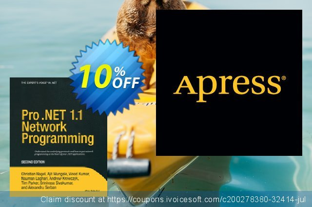 Pro .NET 1.1 Network Programming (Serban) discount 10% OFF, 2021 New Year's Day deals