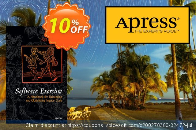 Software Exorcism (Blunden) discount 10% OFF, 2020 End year offering sales