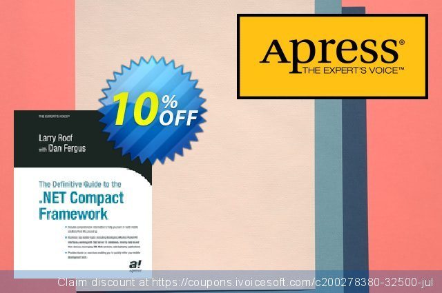 The Definitive Guide to the .NET Compact Framework (Fergus) discount 10% OFF, 2021 January offering sales
