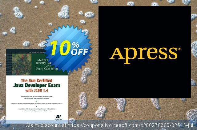 The Sun Certified Java Developer Exam with J2SE 1.4 (Patterson) discount 10% OFF, 2021 Happy New Year offering sales