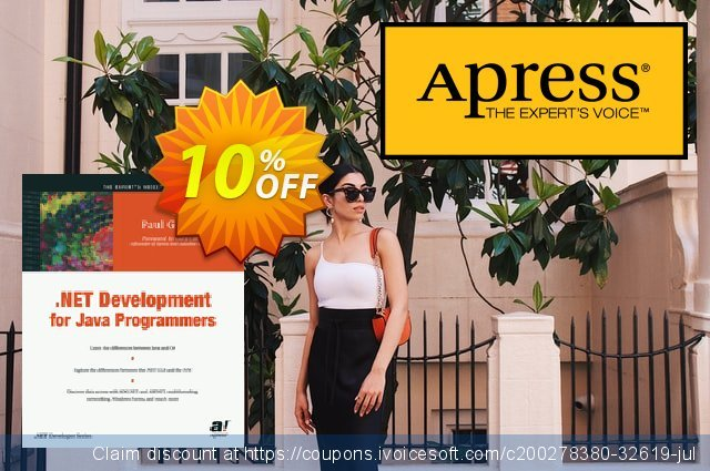 .NET Development for Java Programmers (Gibbons) discount 10% OFF, 2021 Coffee Ice Cream Day offering sales. .NET Development for Java Programmers (Gibbons) Deal