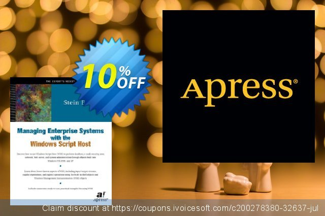 Managing Enterprise Systems with the Windows Script Host (Borge) discount 10% OFF, 2021 New Year offering sales