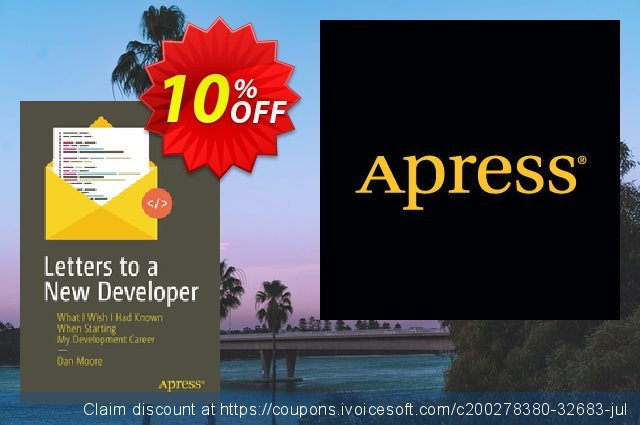 Letters to a New Developer (Moore) discount 10% OFF, 2020 Back to School coupons offering sales