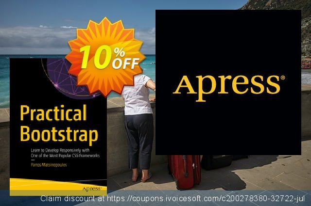Practical Bootstrap (Matsinopoulos) discount 10% OFF, 2020 Back to School deals offering sales