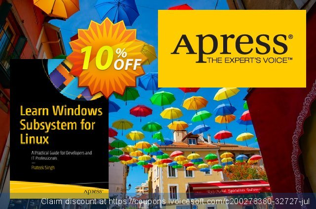 Learn Windows Subsystem for Linux (Singh) discount 10% OFF, 2020 Exclusive Student deals promotions