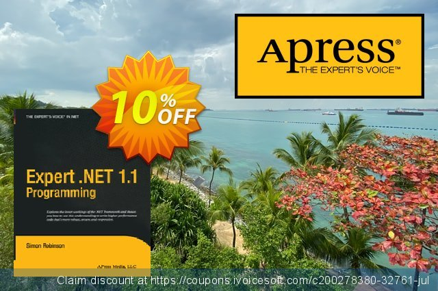 Expert .NET 1.1 Programming (Robinson) discount 10% OFF, 2020 Back to School promo offering sales