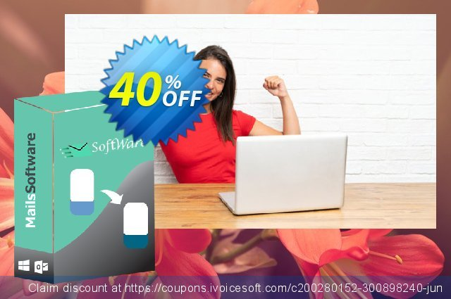 MailsSoftware MBOX to PST Converter - Business License discount 40% OFF, 2021 April Fools' Day promotions