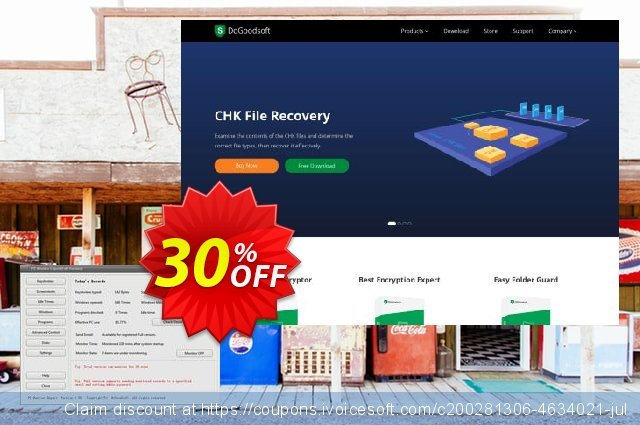 DoGoodsoft PC Monitor Expert discount 20% OFF, 2020 Halloween offering sales