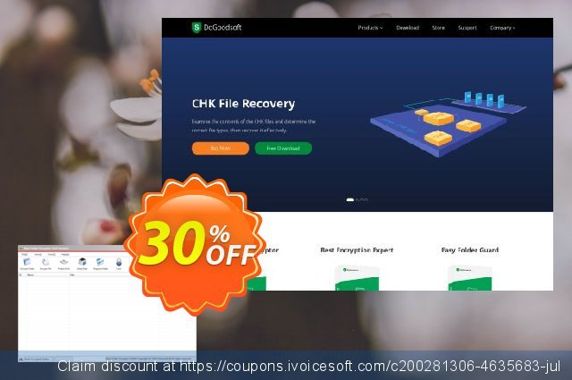 DoGoodsoft Best Folder Encryptor & USB Encryptor discount 20% OFF, 2020 Halloween offering sales