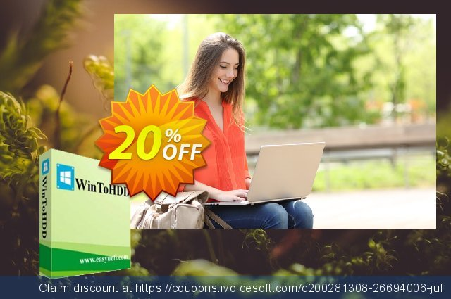 WinToHDD Professional + Lifetime Free Upgrades discount 20% OFF, 2020 Halloween discount