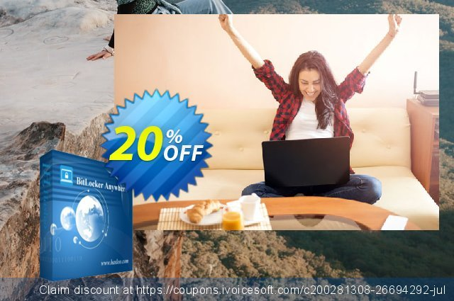 BitLocker Anywhere Professional For Windows + Lifetime Free Upgrades discount 20% OFF, 2020 Halloween offering discount